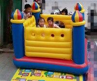Надувной замок Складной батут игровой дом игрушка океан мяч бассейн дома небольшой озорной форт для детский подарок