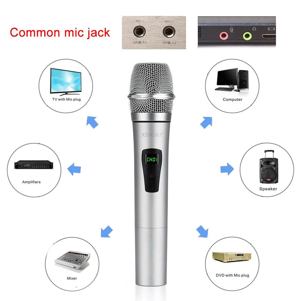 wireless handheld microphone 12