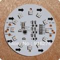 Nova Placa de Circuito WS2811 pixels 24 V 10 cm 5050 SMD 12 módulos de LED RGB Full Color Spot Light Livre grátis
