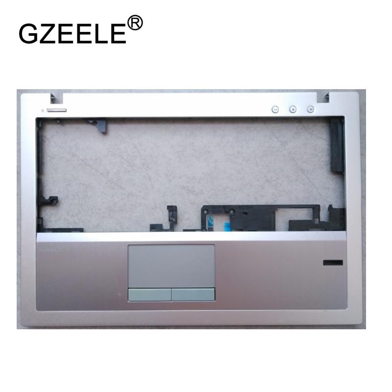 GZEELE New Laptop upper case base cover for HP Probook 5330M Palmrest topcase Keyboard Upper cover TOP CASE With Touchpad a top cover upper case with backlit keyboard for hp 15 ax102tx 859735 001 black