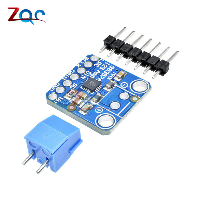 US $3 05 10% OFF|MAX98357 I2S Class D Mono Amplifier 3W Amplifier Breakout  Interface DAC Decoder Module Audio Board For Raspberry Pi ESP32 ESP 32-in