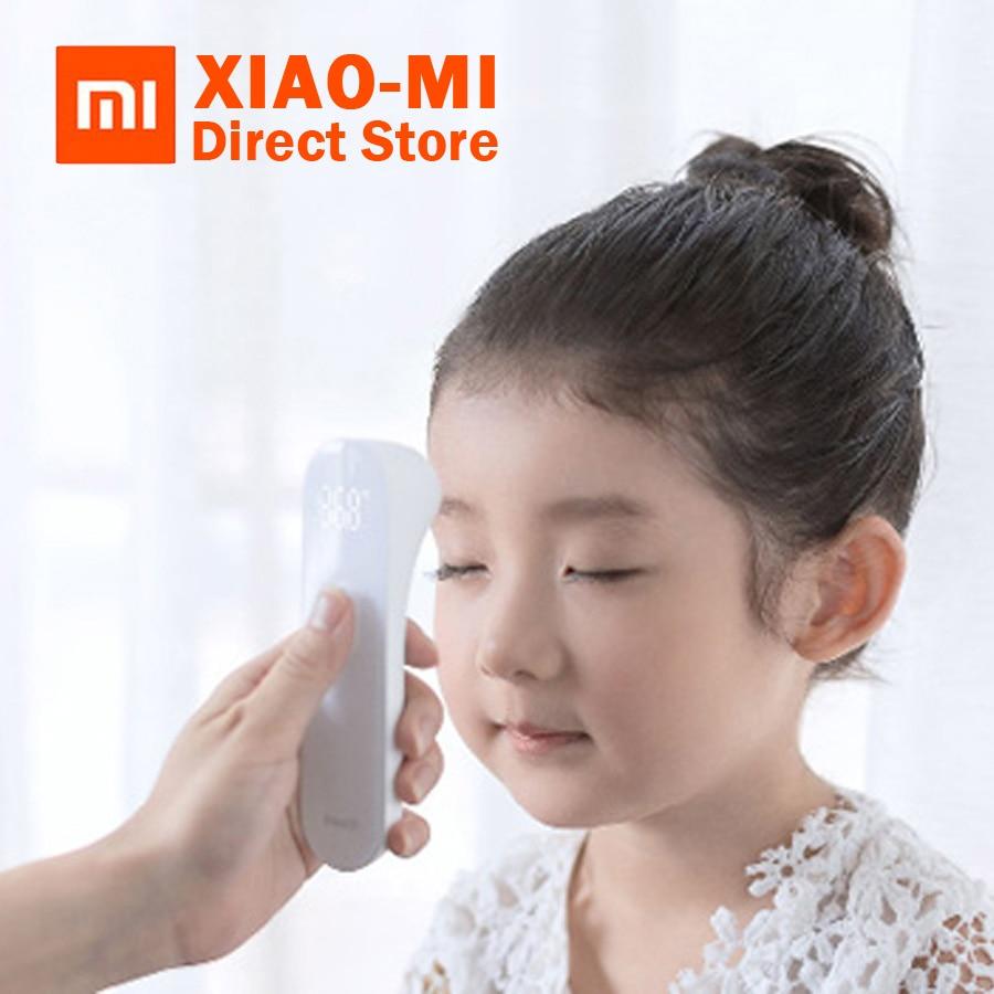 Original Xiaomi Mijia iHealth termómetro Digital precisa fiebre termómetro clínico por infrarrojos sin contacto medición LED muestra