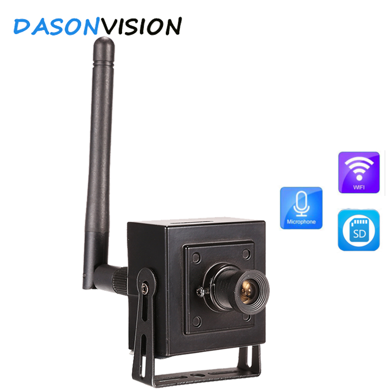 Mini Ip Camera WiFi HD 1080P Video Wireless Phone Supported Onvif Audio Microphone SD Card Recording P2P CCTV network Cameras super mini hd 720p wireless ip camera wifi cctv network cam microphone audio sd card p2p support android iphone p2p view