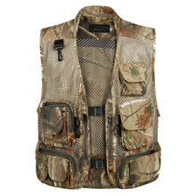 2016 Summer Waterproof Vest Quality Casual Camouflage Waistcoat Vest for Shooting Men's Photographer Sleeveless Jackets