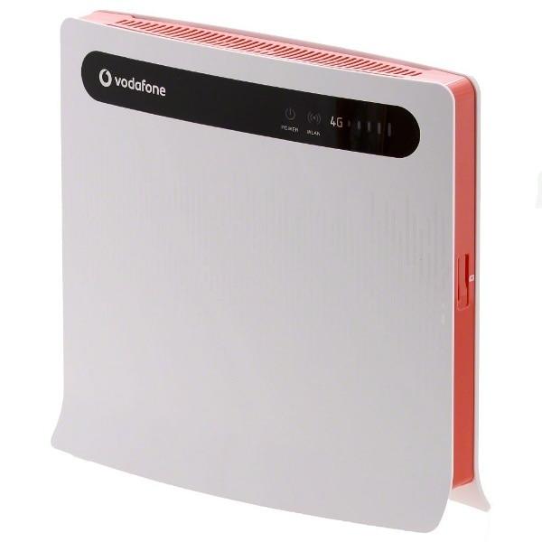 VODAFONE LTE B1000 WIRELESS ROUTER / HUAWEI B390S-2 -WLAN+4x LAN+ 2pcs 4g B1000 antenna