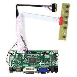 HDMI + DVI + VGA + аудио ЖК-дисплей Контроллер Совета M. NT68676 работа для 7 inch 10,1 дюйма N070ICG-LD1 B101EW05 LP101WX1 1280x800 ЖК-дисплей Экран