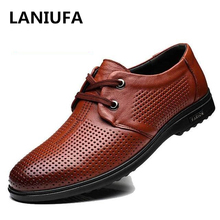 Genuine Leather shoes Men Round Toe Oxfords Men Shoes Lace Up Designer Luxury high quality Men Formal dress Shoes man shoes #918