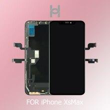 OEM Оригинальный AMOLED для Apple iPhone XS MAX ЖК-дисплей запасные части для дигитайзера для iPhone X XR OEM ЖК-дисплей