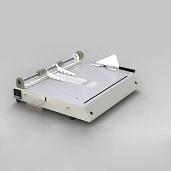 Hardcover making machine, hardcover case maker, hardcover book cover making machine A4 vertical loading фото