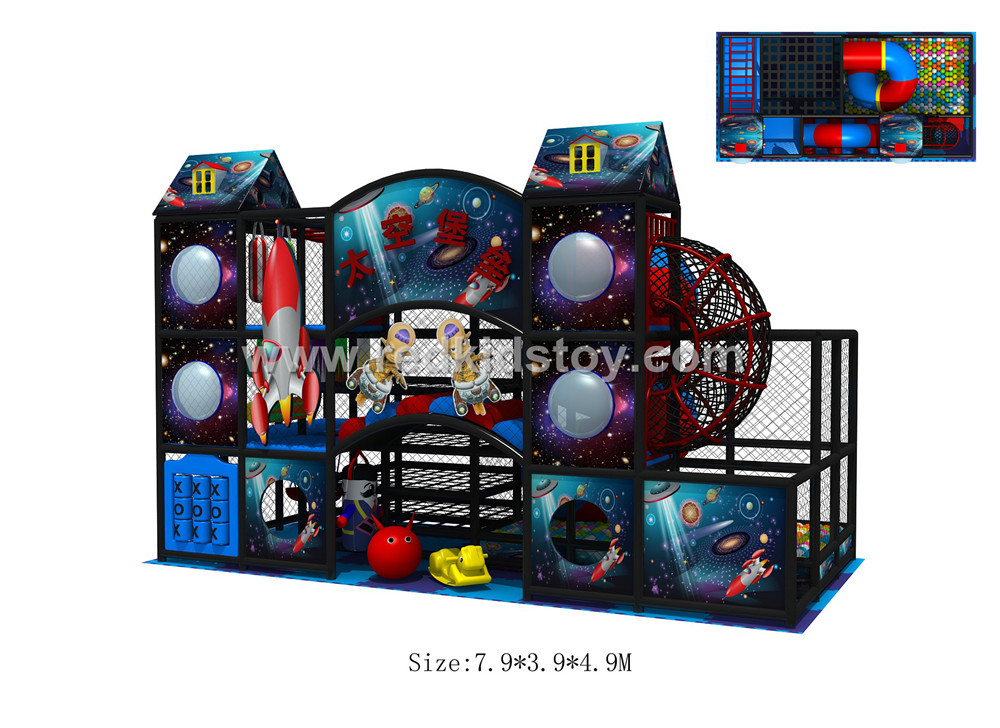 Custom made china soft playground ce certificated indoor for Indoor play structure prices