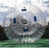 Надувной прозрачный шар для зорбинга надувные водяные Зорб шары для продажи
