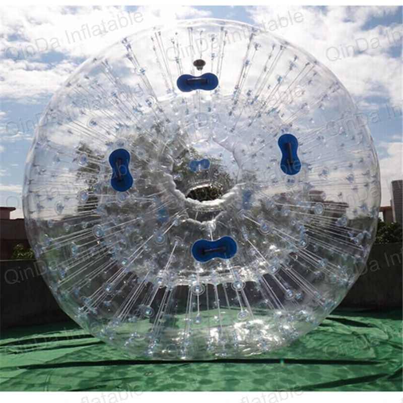 inflatable clear zorbing ball inflatable water zorb balls for sale inflatable water spoon outdoor game water ball summer water spray beach ball lawn playing ball children s toy ball