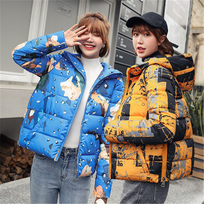 Fashion Parkas woman 2019 New Short Down jacket women Korean Slim Ladies winter jackets Cotton coats Thick Warm Padded jacket(China)