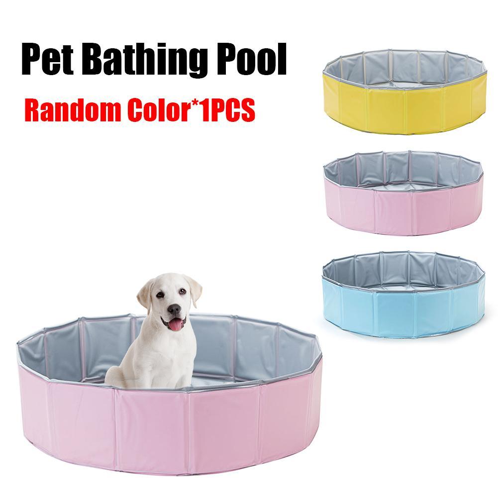Animaux de compagnie piscine chien chat baignoire pour animaux de compagnie pliante baignoire de bain piscine fournitures pour animaux de compagnie