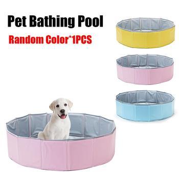 Pet Bathing Pool Dog Cat Bath Tub Pet Folding Bathing Tub Swimming Pool Pet Supplies