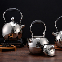 1pc Water Kettle Inox Small Induction Tea Kettle Stove Kettle