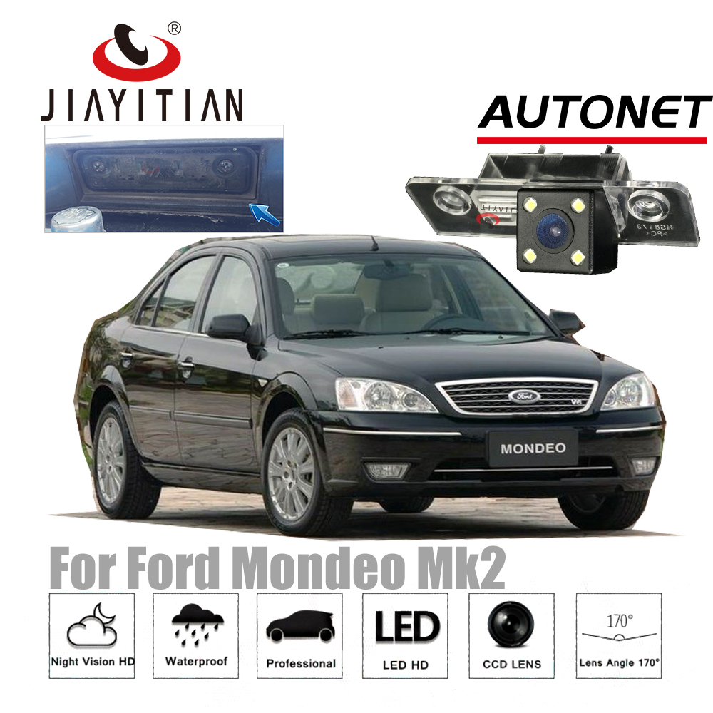 JIAYITIAN Rear View camera For Ford Mondeo Mk3 Ghia-x /Fusion/Contour 2000~2007 CCD Night Vision Special camera Parking Camera