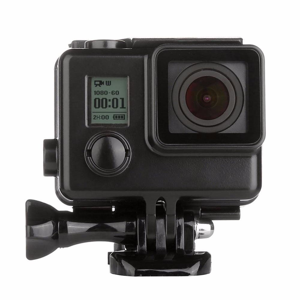 Pro GoPro vodotěsné pouzdro Blackout Box GoPro Hero 4 Hero 3 + 3 3 UnderWater Ochranné černé pouzdro pro GoPro příslušenství