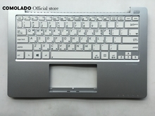 KR Korean keyboard For ASUS X201 X201E Palmrest Cover White key Layout
