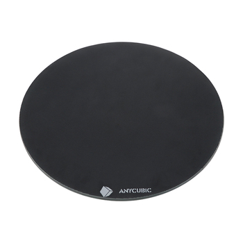 Diameter 200mm/240mm hotbed Ultrabase Platform round Build Surface Glass plate for ANYCUBIC Kossel linear plus Pulley 3D Printer