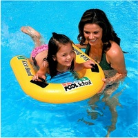 2018 New Inflatable Pool Float for Kids Adults Lounger Kick Board for Learnning Swimming Raft Water Fun Outdoor Sports Beach Toy