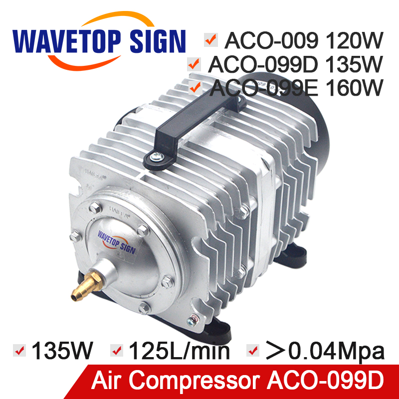 HAILEA Air Compressor Air Pump for CO2 Laser Engraving Cutting Machine ACO-009 120W ACO-009D 135W ACO-009E 160W