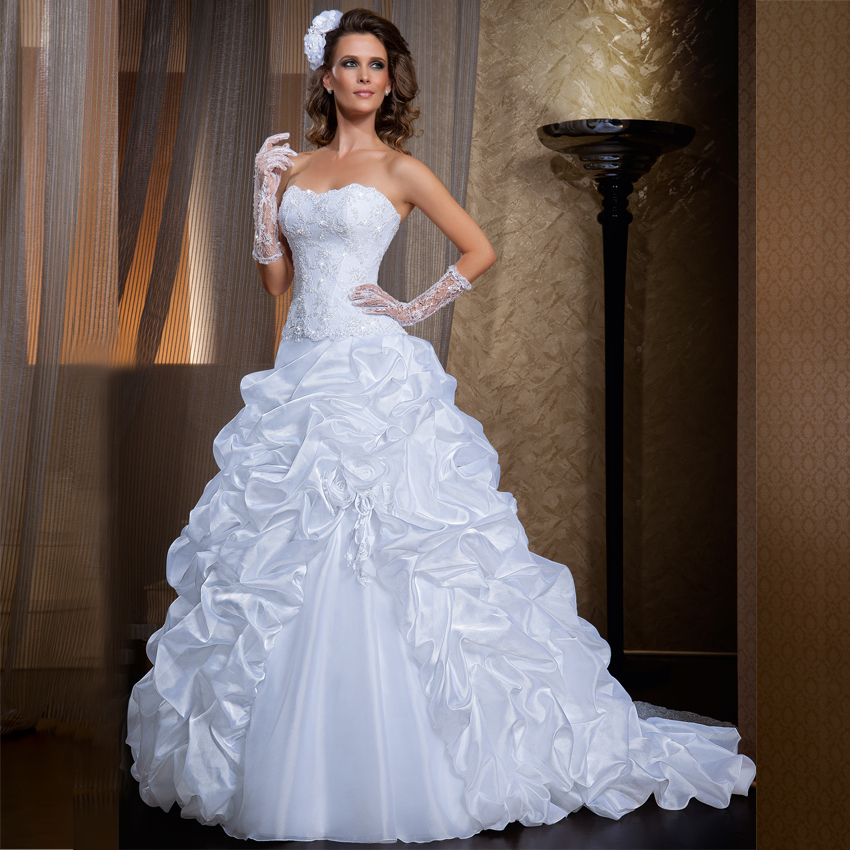 Vintage Wedding Dresses Bay Area: Popular Detachable Skirt Wedding Dress-Buy Cheap
