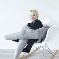 Baby Crocodile Pillow Children Cushion Comfort Pillow Infant Bed Crib Fence Bumper Kid's Room Decoration Toys