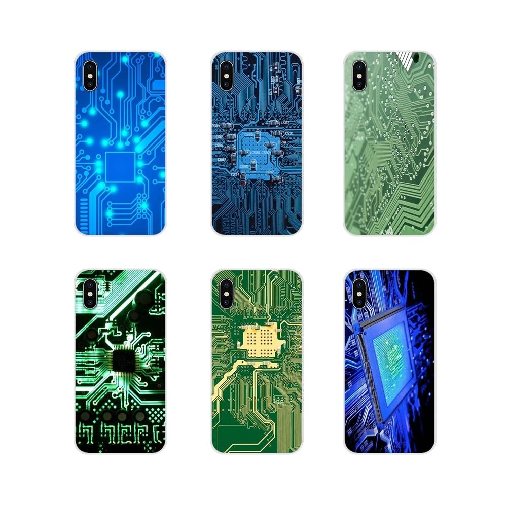 Accesorios De Placa De Circuito De Ordenador Fundas De Teléfono Para Samsung Galaxy A5 A6s A7 A8 A9s Star J4 J6 J7 J8 Primer Plus 2018 Compra Uno Da Uno