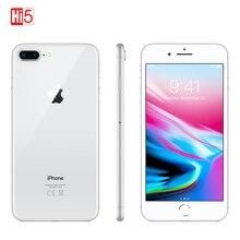 Разблокированный мобильный телефон Apple Iphone 8 plus 64G/256G rom 12,0 MP отпечаток пальца iOS 11 4G LTE смартфон 1080P 4,7 дюймов экран