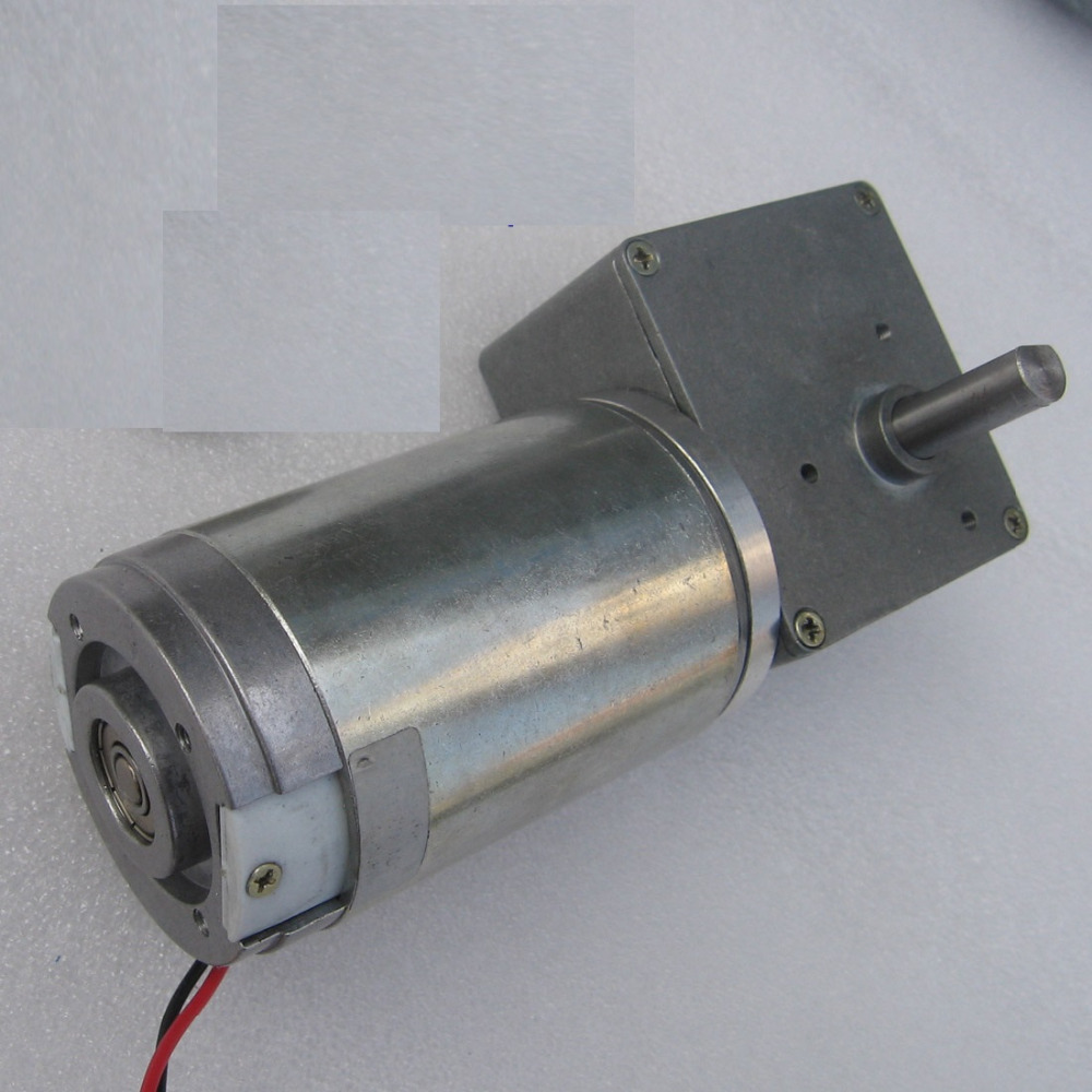 new  GW4468 high-speed motor worm gear motor DC motor robot model Total  12v 1.2a 80 rpm gw4468 12v 5 14 30 55 rpm 24v 10 28 60 115 rpm low speed high torque worm gear box motor electric industry machine engine robot