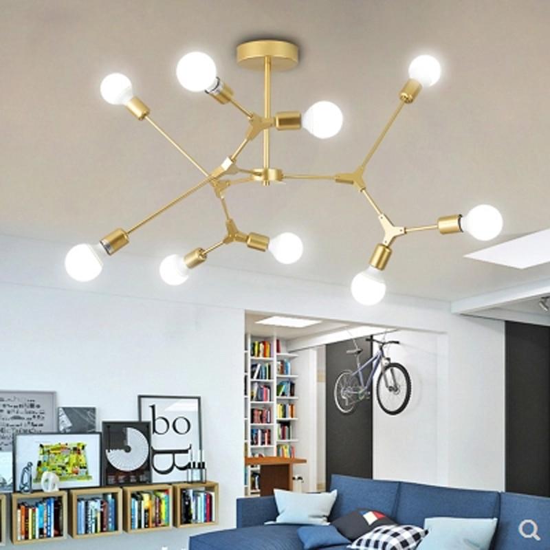 где купить Modern LED Pendant Lights Nordic Art Restaurant Pendant Lights E27 Light Dining Room Hanglamp Lamparas Home Decoration Lightin по лучшей цене