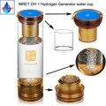 Квантовый резонатор для улучшения сна MRETOH Spin, 7,8 Гц, антивозрастной генератор водородной воды в бутылке, перезаряжаемый Электролизный иониз...