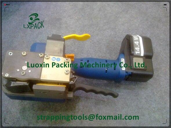 LX PACK ручной инструмент с питанием от батареи, электрические инструменты для обвязки, упаковочная машина для батареи, комбинация Sealless, перез