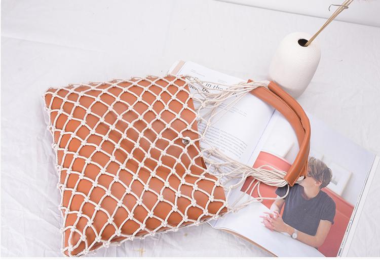 Bolsa Rede com Alça Ombro