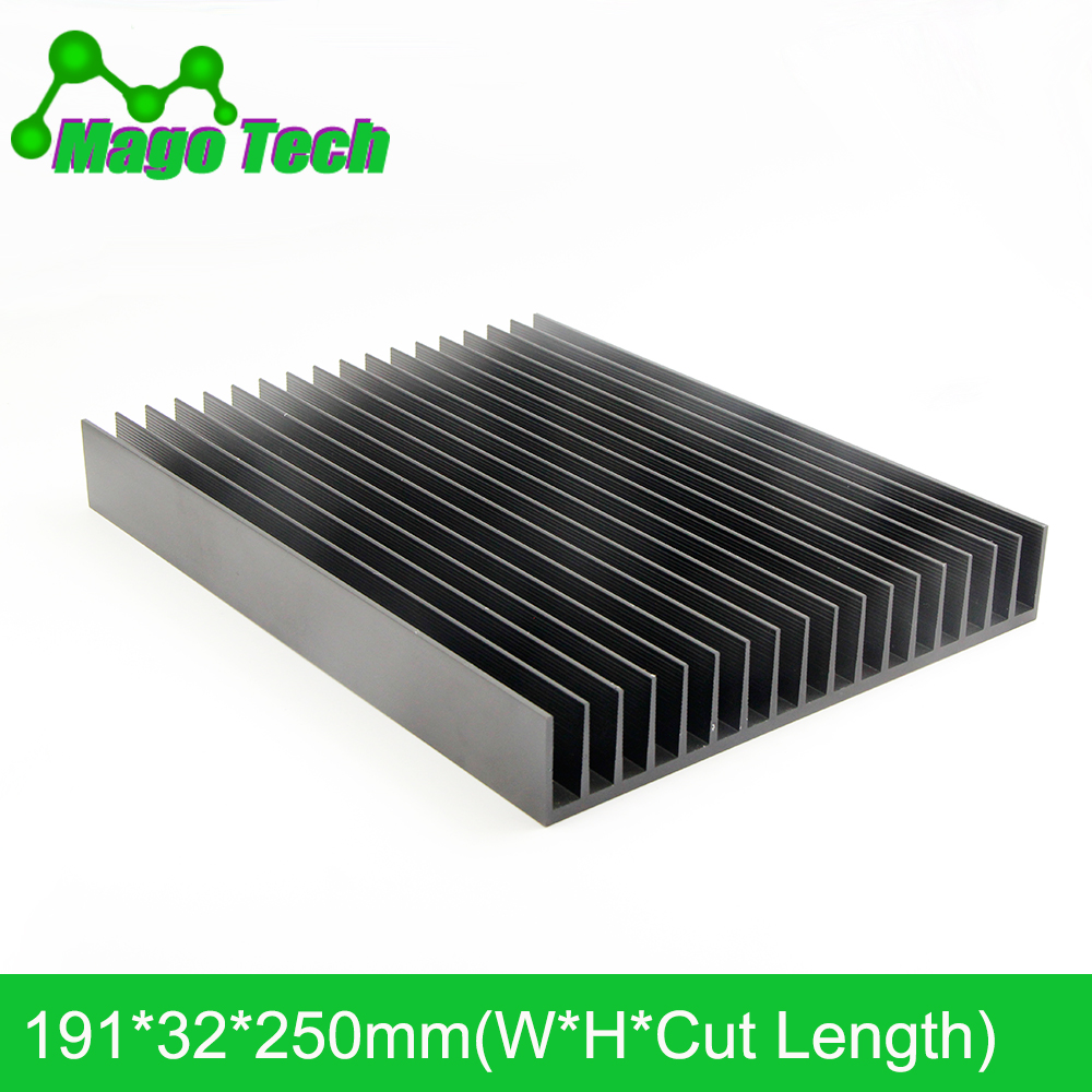 LED Aluminum <font><b>Heatsink</b></font> Plate 80W <font><b>100W</b></font> Radiator Cooling Cooler Fit Transistor IC Thermal Conductivity LED Radiator Electronics image