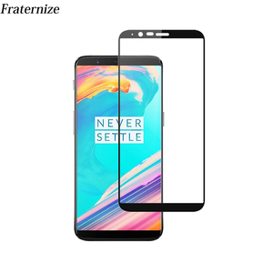 Oneplus 5T Glass Full Screen Protector Film Tempered Glass For One plus 5T A5010 1+5T Screen Protection Full Coverage glass case(China)