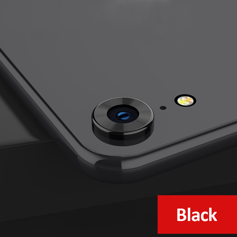 KIPXR1090B_1_Metal Camera Lens Protector for iPhone XR 360 Full Protection Anti-scratch Camera Protective Cover