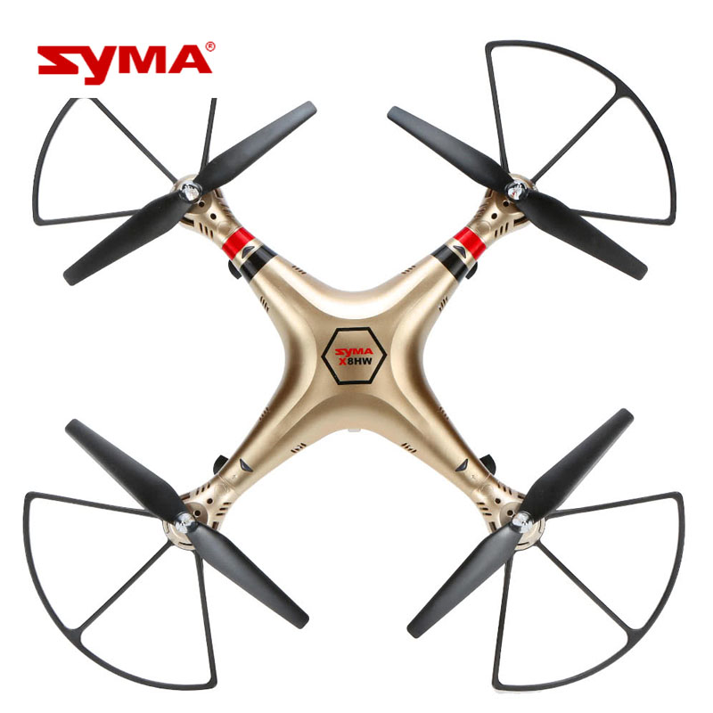 Professional Syma Motor X8HW RC Quadrocopter 2.4G 4CH 6-Axis Remote Control Helicopter 720P WiFi FPV HD Camera mini drone rc helicopter quadrocopter headless model drons remote control toys for kids dron copter vs jjrc h36 rc drone hobbies