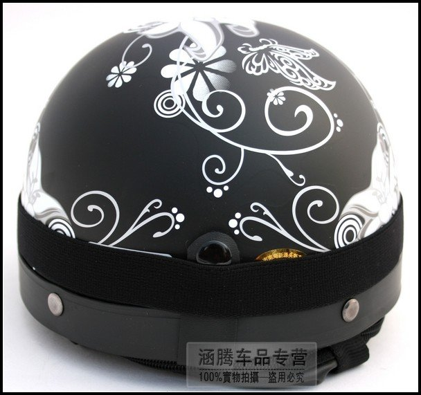 Motorcycle Half Helmet Decals Custom Vinyl Decals - Vinyl decals for motorcycle helmets