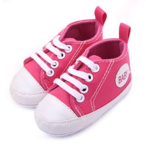 Baby Shoes First Walkers Toddler Boy Girl Canvas Shoes Soft Sole Sneakers 1-3 Y