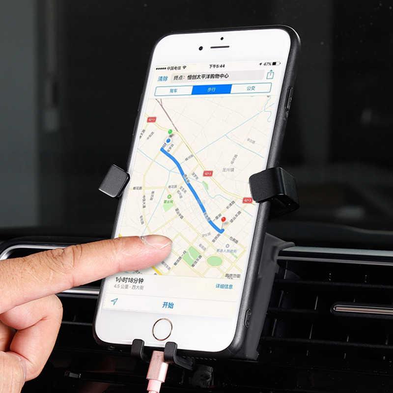 YIWANG Carbon Fiber Styling Mobile Phone Holder Trim for Toyota Land Cruiser 2016-2019,for Toyota Prado FJ150 Car Accessories