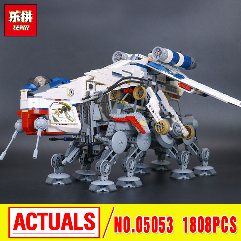 New Lepin 05053 New Genuine Star Series The Republic Dropship Set Building Blocks Bricks  Children Educational Toys 10195  War new lp2k series contactor lp2k06015 lp2k06015md lp2 k06015md 220v dc