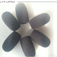Foam mic windscreen microphone covers with 15mm hole diameter 10pcs/lot  free shipping by post