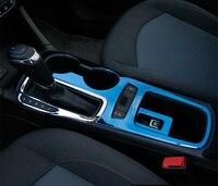 Tungsten stainless steel mirror Interior Shift Gear Panel trim for Chevrolet 2017 2018 Cruze accessories LHD