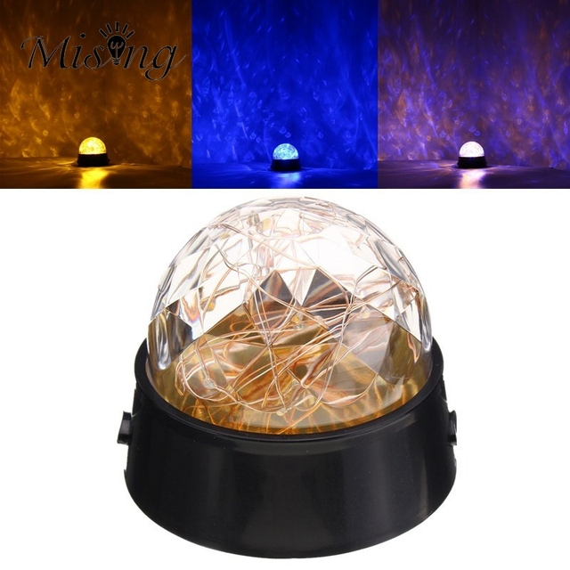 Led string light battery powered crystal star ball star led table led string light battery powered crystal star ball star led table lamp mode yellow blue party mozeypictures Gallery