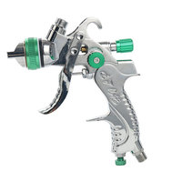 Free Shipping Spray gun HVLP SPRAY GUN gravity feed 1.4mm 1.7mm 2.0mm auto Car face Paint spray gun paint pneumatic pistols