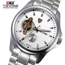 Top Brand Hombres Mecánicos Reloj Original TEVISE Mecánico de Lujo Gran Reloj Relojes Luminosos Reloj de Pulsera Relogio masculino