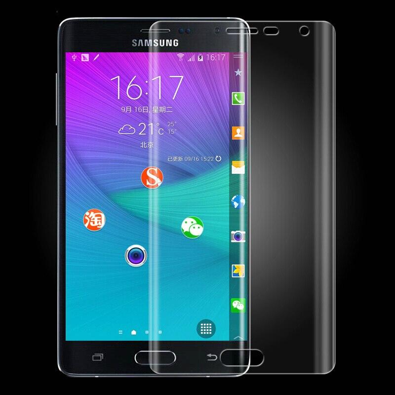 JGKK 3D Transparent Soft TPU Film For Samsung Galaxy Note Edge N9150 Screen Protector Full Coverage Film For Galaxy Note Edge
