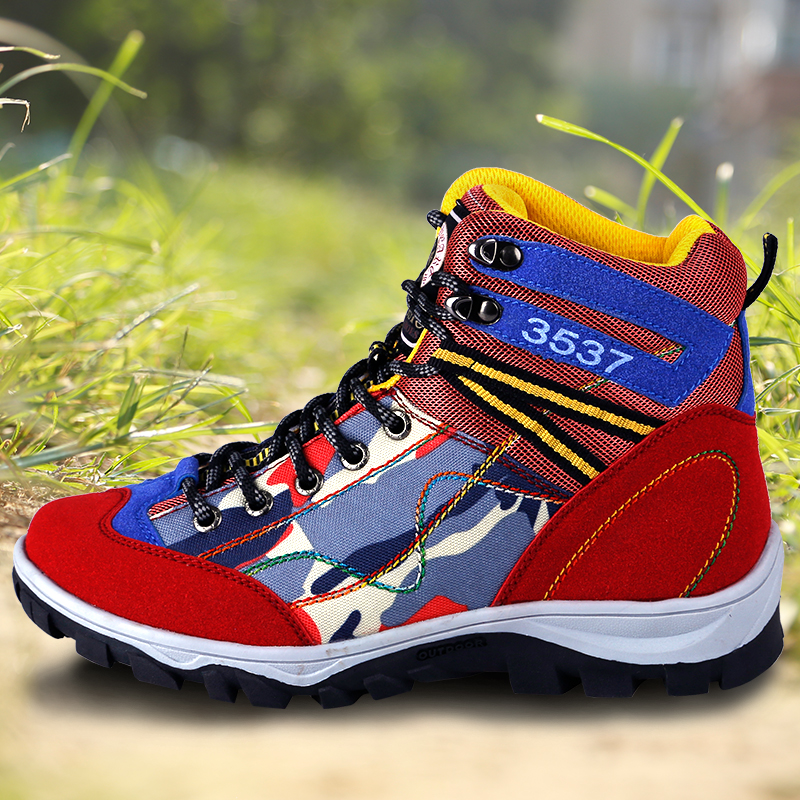 Woman Hiking Shoes Female Breathable Anti Skid Hiking Boots Shoes Woman Outdoor Fishing Fitness Walking Trekking Shoes 2016 kelme football boots broken nail kids skid wearable shoes breathable